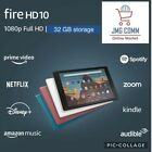 "Amazon Fire HD 10 Tablet 10.1"" Display 32 GB PLUM 9th Gen SAME DAY SHPPING FREE"
