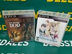 1 NIB! Tales of Xillia PS3 Video Game or 1 New! The Walking Dead PS3 Video Game