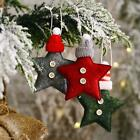 Christmas Decor Knitted Hat Five-pointed Star Pendant Pendant Creative D2j6
