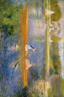 Pierre Auguste Renoir Poster Print of Painting The Seine at Asnieres
