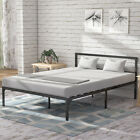 """YITAHOME Twin/Full/Queen/King Size Bed Frame Metal Platform Mattress Bedroom 14"""""""