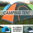 US Waterproof Camping Tent Auto Pop Up Quick Shelter Outdoor Hiking 2-3