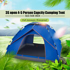 US 2-3 / 4-5 Person Automatic Outdoor Camping Tent Waterproof Sunshin