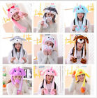 Animal Style Cute Ears Wavy Hat Halloween Christmas Costume Ears MOVE by Itself