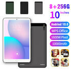"""10"""" Inch  8+256gb Android 10.0 Tablet Pc Wifi Dual Sim Camera Gps Hd Phablet Uk"""