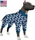 LovinPet Pitbull Pajamas/Post Surgery Shirt/XXL Dog Pjs