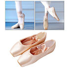 Professional Ballet Pointe Shoes Girls Ladies Satin Ballet Shoes with Ribbons