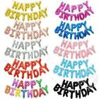 16'' HAPPY BIRTHDAY FOIL BALLOON SELF INFLATING BANNER BUNTING PARTY DECORATION