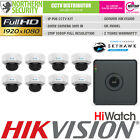 HiLook 8CH HD 1080P 2MP Night Vision Outdoor POE IP Home Security System Kit