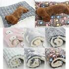 HOT Pet Plush Blanket Mat Dog Cat Puppy Warm Sleeping Soft Bed Blankets Supplies