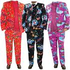 Mens Christmas Fancy Dress True Face Costume Coat Novelty Pants Funky Jackets