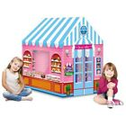 Play Tent Kids House Castle Outdoor Indoor Playhouse Children Girls Portable Lar