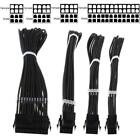 1Set Basic Extension Cable Kit EPS4 PCIE6 PCI-E Power Cable for PC Computer