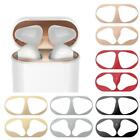 Metal Dust Guard Protective Film Sticker Cover For Airpods Accessories 2021
