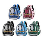 Portable Bird Travel Carrier Outdoor Bird Transport Cage Breathable Backpack