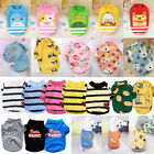 Puppy Dog Clothes T Shirt Small Dogs Chihuahua Pet Vest Fleece Sweater Winter