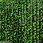 7.87 Ft Ivy Artificial Leaf Vine Foliage Fake Plants Garland Home Garden Decor