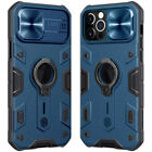 For Apple iPhone 12 Pro Max NILLKIN Outdoor Sports Kickstand Camera Protect Case