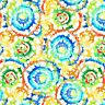 """Wide Cotton Backing 108"""" Spin Art Multi"""