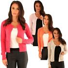 Ladies Knitted Cardigans Full Sleeves Sweaters Womens Soft Knitwear Casual Tops