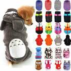 Pet Sweater Clothes Chihuahua Small Dog Coat Jacket Soft Warmer Hoodies Costume