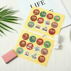 1-24 Number Stickers Christmas Sealing Adhesive Label Paper Stickers Xmas U5o4