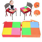 Children Highchair Pad Baby Booster Seat Cushion Removable Kids Dining Booster