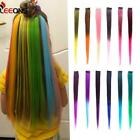 Extensions Pure Color Straight Long Synthetic Hair Fake Hair Pieces Clip Leeons