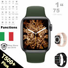 SMARTWATCH T500 + PLUS [44mm] 2021 CARDIOFREQUENZIMETRO SERIE 6 FITNESS TRACKER