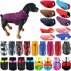 HOT Puppy Pet Dog Jacket Padded Vest Puffer Spring Warmer Coat Clothes Pullovers
