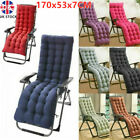 Sun Lounger Chair Cushions Garden Furniture Replacement Sunbed Pad Cotton Bench