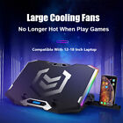 Gaming RGB Laptop Cooler For 12-18 Inch Six Fans LCD Screen Laptop Cooling Pad