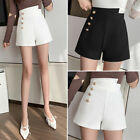 New Spring Women Lady High Waisted Casual Loose Office Wide Leg Shorts Hot Pants