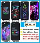 Gaming Phone Case Kids Cover Shockproof Play Station Sign Case Birthday Gift