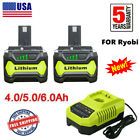 For RYOBI P108 18Volt One+ Plus High Capacity Lithium-ion Battery OR Charger US
