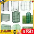 New Greenhouse Outdoor Garden PVC Plastic Plant Grow Bag Tunnel Green House