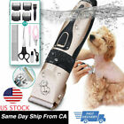 Внешний вид - Dog Cat Pet Grooming Kit Rechargeable Cordless Electric Hair Clipper Trimmer