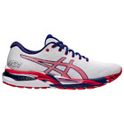 ASICS® GEL-Cumulus 22 White Red Blue Fourth Of July 1011B107-100 Men's 7.5-14