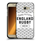 OFFICIAL ENGLAND RUGBY UNION HISTORY BLACK SOFT GEL CASE FOR SAMSUNG PHONES 2