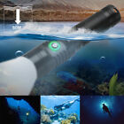 Underwater Diving Flashlight Water Sports Waterproof LED Scuba Touch Lamp