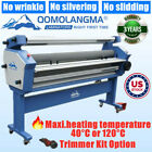 US Stock 110V 63in Wide Cold Laminator with Heat Assisted up to 40 °C or 120 °C