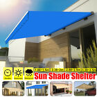 Waterproof Garden Awning Canopy Sun Shade Shelter Replacement Fabric Top Cover
