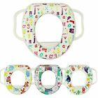 Baby Kids Soft Padded Potty Training Printed Toilet Seat With Handle