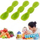 Baby Silicone Spoon Feeding Set Kids Dishes Toddlers Infant Feeding Tool Hot