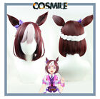 Game Pretty Derby Special Week Cosplay Prop Hair Wig Give Bow-knot Cos Sa ZY