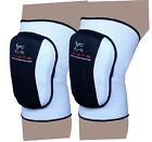 EVO Martial Arts MMA Volleyball Wrestling Knee Pad Guards straps wraps Work wear