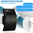 300Mbps WiFi Extender Repeater Signal Booster Wireless Router Range Network