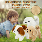 Electric Imulation Plush Toy Puppy Can Bark And Walk With Tail Robot Dog Toy W