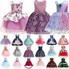 Girls Kids Flower Princess Dress for Party Formal Wedding Ball Gown Tutu Dress