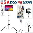 Foldable Height Floor Tablet Tripod Stand Mount Adjustable For iPad Mobile Phone